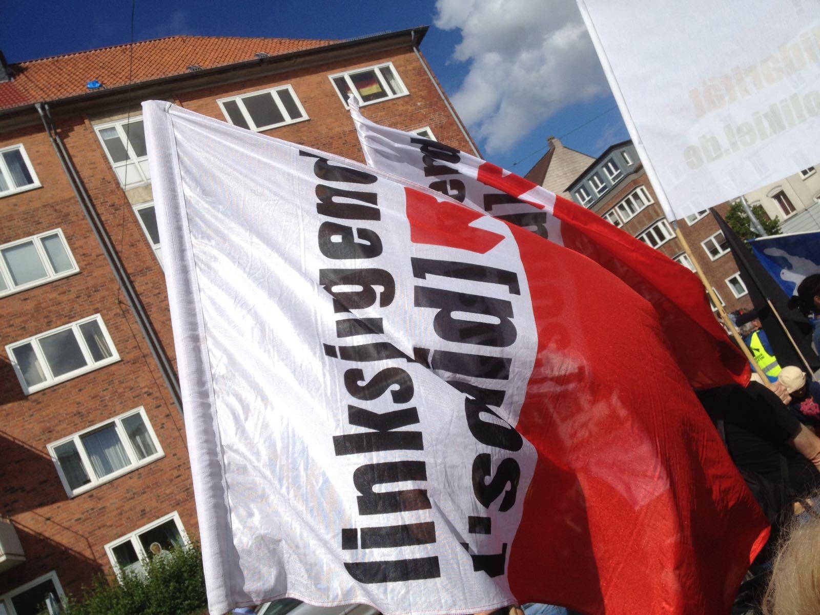 linksjugend-fahne