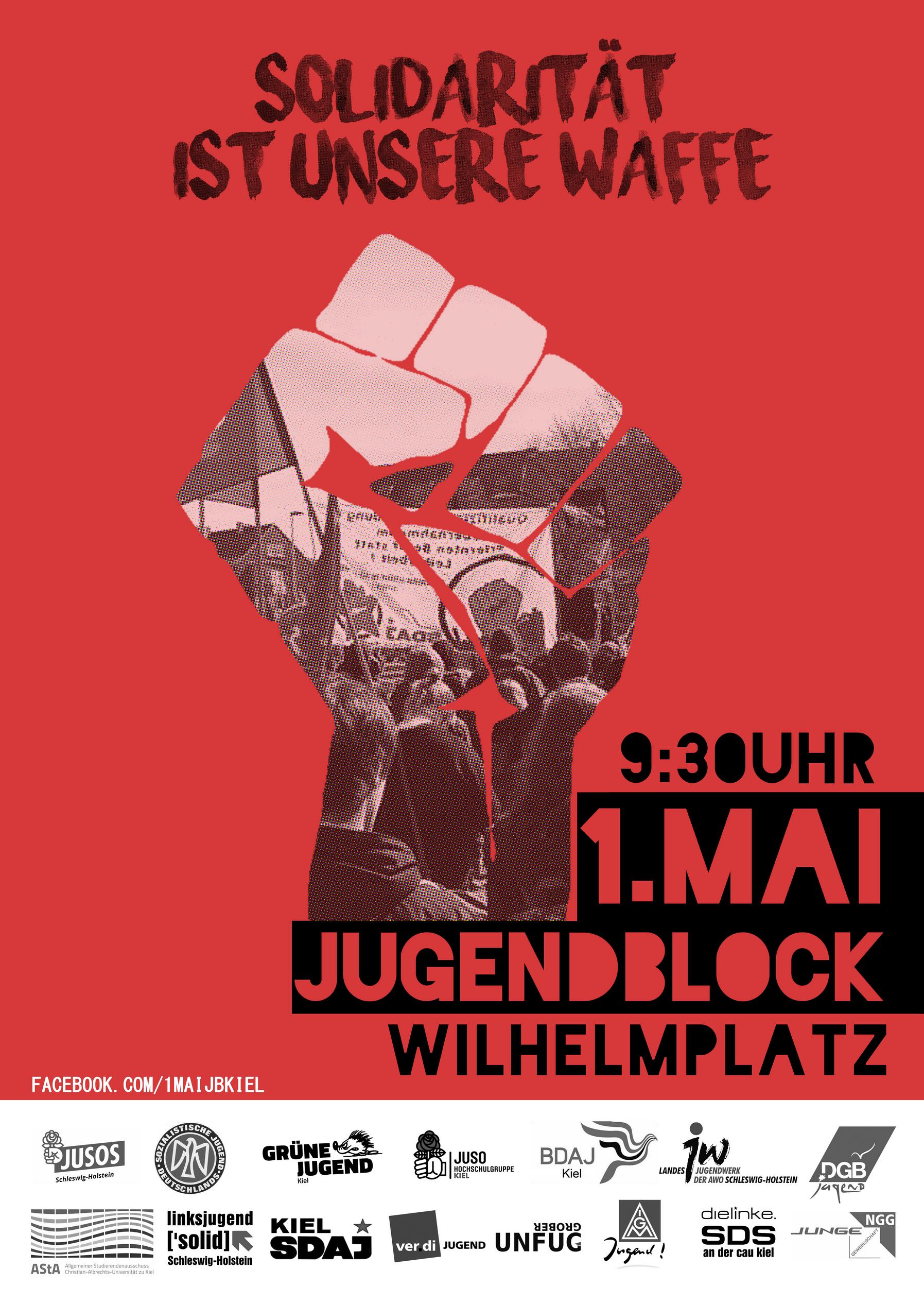 1. Mai Demoaufruf - Solidarität ist unsere Waffe