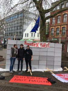Basisgruppe Neumünster kritisiert EU-Grenzpolitik