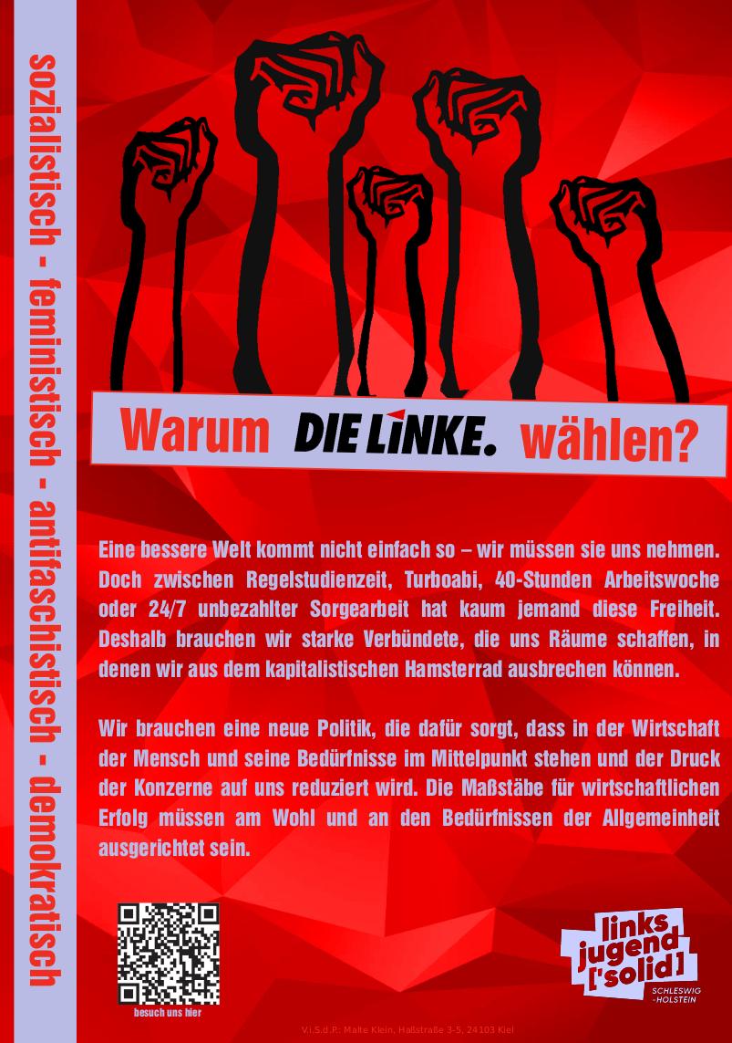 Wahlempfehlung zur Bundestagswahl 2021 Front